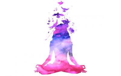 Meditatie helpt om te ontspannen en tegen stress
